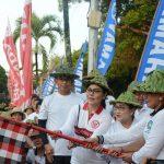 Gatriwara DPRD Bali Dukung Gerakan Jalan Sehat Keluarga