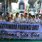 Jalin Kekeluargaan Gatriwara Provinsi Bali Gelar Persembahyangan Bersama