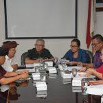 Sikapi Kasus Babi Mati, Komisi II DPRD Bali Gelar Raker