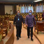 Rapat Paripurna DPRD Bali Melalui Teleconference