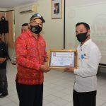 Ketua Komisi I DPRD Bali Hadiri Penyerahan Lomba ILM Covid-19