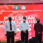 Ketua Komisi I Hadiri Peresmian Pos Layanan Hukum dan HAM Desa Provinsi Bali