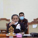Wakil ketua DPRD Bali Menerima Aspirasi Mahasiswa Cipayung Plus Bali
