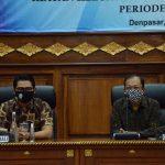 Agung Suyoga Hadiri Pelantikan Pengurus PWI dan IKWI Bali