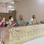 Komisi IV DPRD Bali Sosialisasikan Protokol Kesehatan Covid-19 di Panti Sosial Tresna Werdha, Buleleng