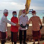 Ketua DPRD Bali Hadiri Ground Breaking Pembangunan Pelabuhan Penyebrangan Sampalan dan Bias Munjul