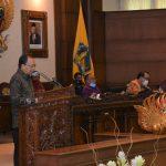 Rapat Paripurna ke-11 masa persidangan II tahun sidang 2020