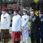 Wakil Ketua DPRD Bali Hadiri Upacara Penurunan Bendera Merah Putih