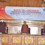 Ketua Komisi I DPRD Bali Hadiri Rapat Koordinasi Kesiapan Penyelenggaraan Pemilihan Serentak
