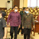 Penandatanganan KUA-PPAS Semesta Berencana Provinsi Bali Tahun 2021