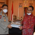 Jenderal Golose Pamit Dengan Ketua DPRD Bali