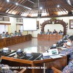 Komisi III DPRD Bali Gelar Rapat Kerja bersama BWS Bali-Penida dan BBP Jalan Nasional Jatim dan Bali