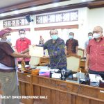 Pimpinan DPRD Bali Terima Audiensi LSM Gema Nusantara Buleleng