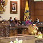 DPRD Provinsi Bali Gelar Rapat Paripurna ke-5 Masa Persidangan ke-I Tahun 2021