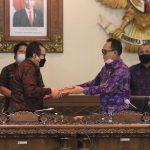 Rapat Paripurna Ke-23 DPRD Provinsi Bali Masa Persidangan III Tahun 2021